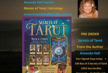 Secrets of Tarot by Amanda Hall Psychic