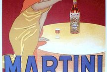 vintage Italian signs and posters