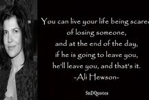 Ali Hewson Quotes