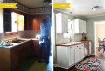 kitchen redo / by Jaimie Carl