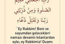 Kur'an-ı Kerim den dualar