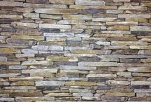 Wallpaper / Stone wall look