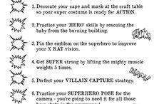 Superhelt / Superhelt trening