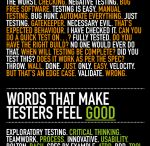 It's all about Testers / This is for information the people who do software testing, what they like, and ideas for improving software testing.
