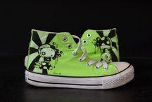 My custom shoes / vuoi una scarpa unica e personalizzata? ecco le mie opere da indossare!!