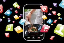 Cooking with my smartphone / Thanks to the many apps now available, you always have food information and inspiration in your pocket.  With just a few swipes, you can conjure up a wealth of food facts and healthy recipes on your screen. We selected our 5 favourites...