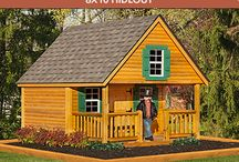 Playhouses for Kids / Choose from lots of fun ways to nurture kids' imaginations.