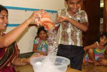 Oyster Kids / Ours is a Pre-school following Maria montessori's methodology.