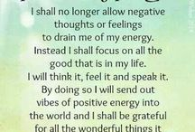 Positive thoughts and control