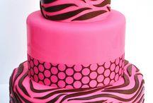 Zebra torták