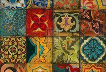 motifs et mosaiques