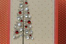 tvoříme z papíru vánoční přání / tvoříme z papíru vánoční přání