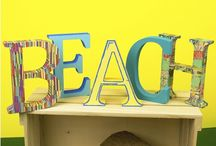 A Day at the Beach / Beach themed craft and party ideas for the whole family to create this Summer.