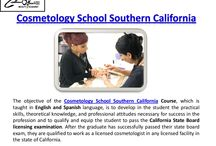 Orange County Cosmetology Schools / As a student of cosmetology school southern california, you will certainly obtain a good working expertise of all the significant locations and techniques of the industry - hair, toenails, skin and makeup, waxing and additional! You will certainly learn the best ways to create tough personal relationships with customers and co-workers and supply remarkable service to a wide range of individuals.