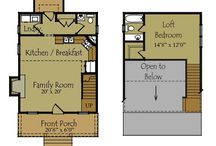 house plans / by Betsy Prine