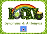 Antonyms/Synonyms/Homophones