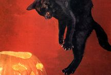 Vintage Halloween / Nostalgic Halloween decorations and illustrations