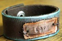 Leather jewellry