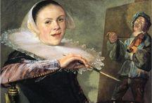 women artists-self portraits
