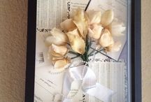 After wedding memory frame