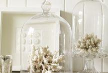 Glass cloche accessorising
