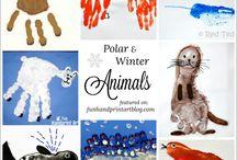 Winter Animals Theme
