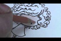 Craftroom: Prismacolor pencils / Prisma Color Pencils tutorials.