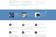 WordPress Theme/Website Template Design