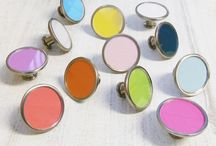 Pushka Bespoke Knobs / A selection of bespoke personalised cupboard knobs
