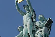 Music statues / Estátuas de música
