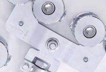 Herrajes puertas correderas colgadas metálicas / Nuestra selección de herrajes para puertas correderas colgadas metálicas