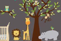 Safari peuterkamer