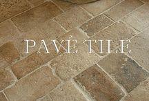 Stones for patio floors
