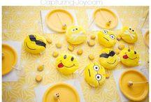 Emoji party sian & Amali