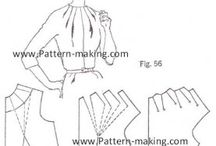 Pattern making / Pattern making, pattern drafting, pattern ideas, sewing