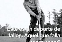 frases del golf