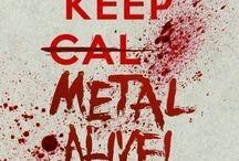 Rock stuff and metal equipment