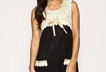 vestidos canesu a crochet