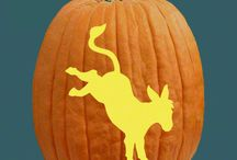 """All American Pumpkin Carving Patterns / Halloween is as American as pumpkin pie! Celebrate the """"spirit"""" of the season with a few patriotic pumpkins!"""