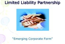 LLP Registration / A Limited liability Partnership is a new form of business introduced in the year 2009, this is a unique form of business in the sense that it has simplicity of a partnership firm and benefits of a limited liability as in a limited corporation