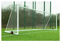 Professional Quality Goals / We only supply the best. Our main distributor Harrod UK specialise in ground equipment and currently supply Wembley Stadium, Croke Park, Emirates Arena. Including aluminium, steel, junior, senior, portable, socketed and much more. Visit eurosoccercompany.com for the full range.