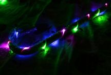 LED light up accessories/dance props
