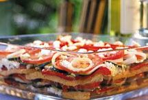 Rezepte / Mediterraner Schichtsalat