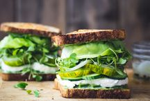 Sandwiches | The Healthy Way / Vegetarian sandwiches
