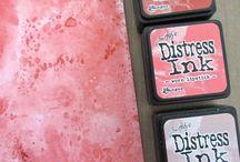 Distress blending