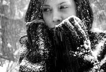 Foto zwart/wit vrouwen