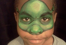 Face painting Character and Super Heroes