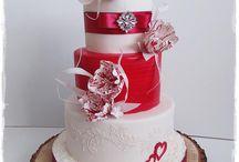 cake st Valentine