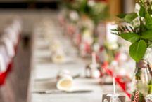 Hochzeit in Rot & Weiß