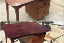 My projects / Pieces I have restored or repurposed